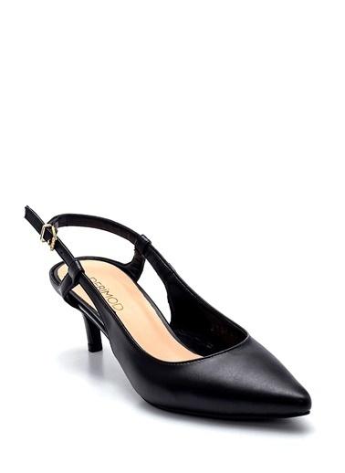Derimod Kadın Ayakkabı (990-25) Gova/Stiletto Siyah